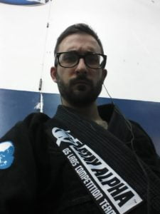 Do I Look Serious? I am Seriously into BJJ