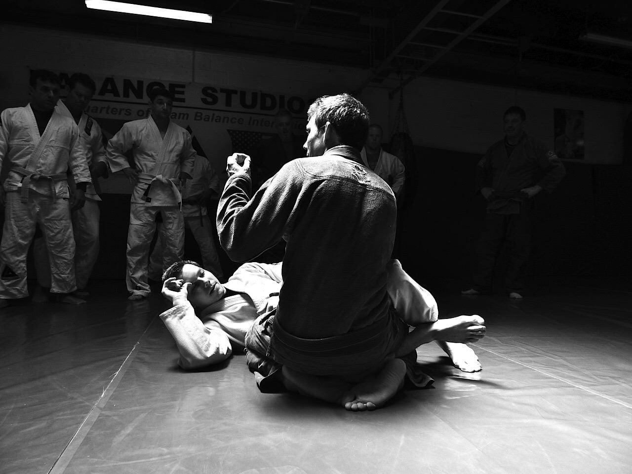 Team Balance Josh Vogel Jitsu Seminar at Komar Jiu Jitsu Academy